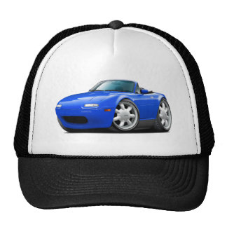 1990-98 Miata Blue Car Trucker Hat