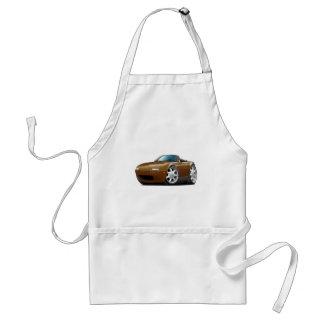 1990-98 Miata Brown Car Adult Apron
