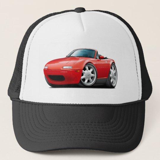 1990-98 Miata Red Car Trucker Hat