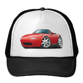 1990-98 Miata Red Car Trucker Hat