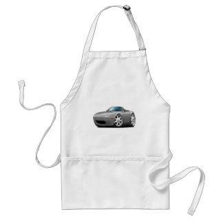 1990-98 Miata Silver Car Adult Apron