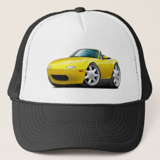 1990-98 Miata Yellow Car Trucker Hat