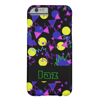 1990 bold geometric dark barely there iPhone 6 case