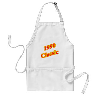 1990 Classic Red. Adult Apron