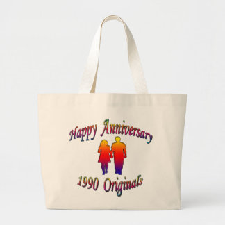 1990 Couple Jumbo Tote Bag
