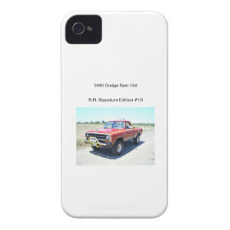 1990 Dodge Ram 150 Rod Hall Signature Edition #18 iPhone 4 Case-Mate Case