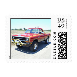 1990 Dodge Ram 150 Rod Hall Signature Edition #18 Stamps