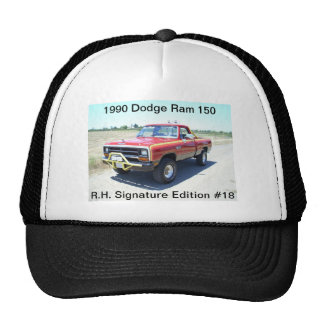 1990 Dodge Ram 150 Rod Hall Signature Edition #18 Trucker Hat