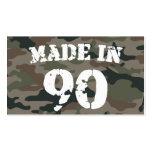 1990 hizo en 90 tarjeta de visita