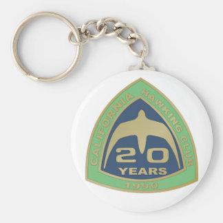 1990 Los Banos Basic Round Button Keychain