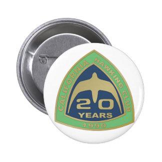 1990 Los Banos Pinback Button