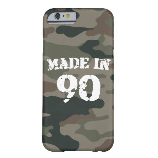 1990 Made In 90 iPhone 6/6s Barely There iPhone 6 Case