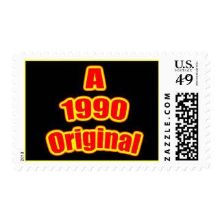 1990 negros originales del rojo sello