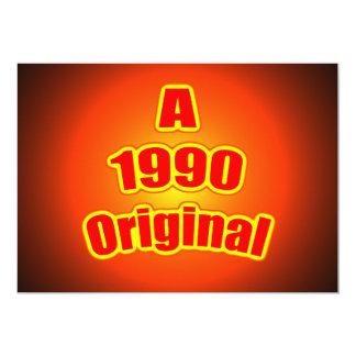 1990 rojos originales comunicado personal