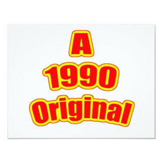 1990 rojos originales comunicados personalizados