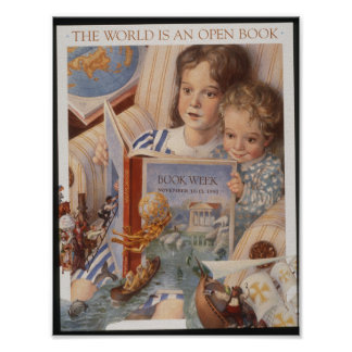 1991 Children's Book Week Poster