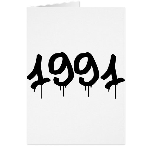 1991 GREETING CARDS