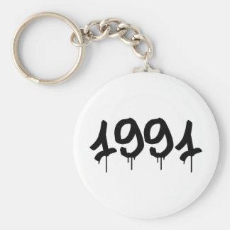 1991 LLAVERO REDONDO TIPO PIN