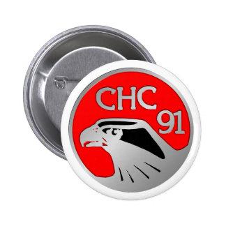 1991 Los Banos Pinback Button