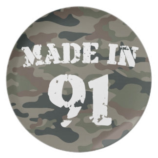 1991 Made in 90 Party Plate