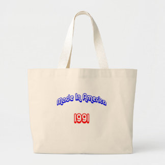1991 Made In America Large Tote Bag