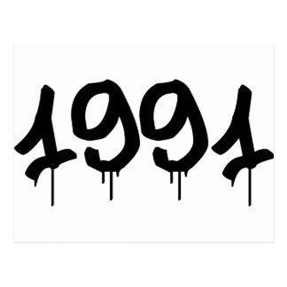 1991 POSTALES