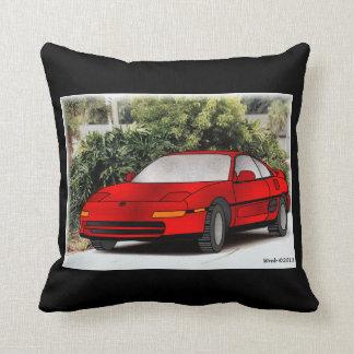 1991 Toyota MR2 Throw Pillow
