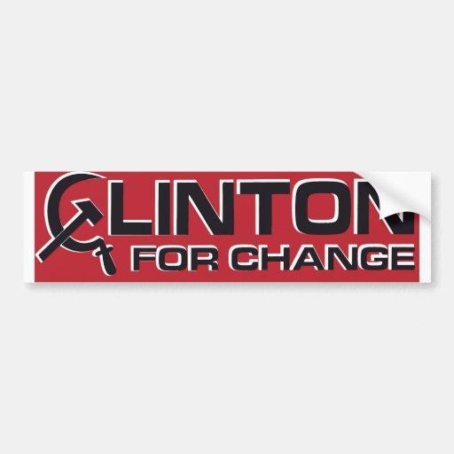 1992 Anti-Clinton Bumper Sticker