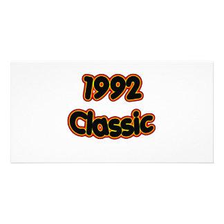 1992 Classic Customized Photo Card