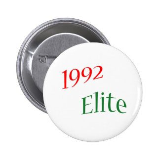 1992 Elite Pinback Buttons