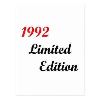 1992 Limited Edition Postcard
