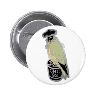 1992 Los Banos Pinback Button