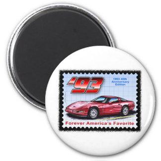 1993 40th Anniversary Corvette Magnet