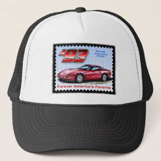 1993 40th Anniversary Corvette Trucker Hat