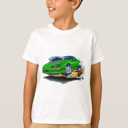 1993-97 Camaro Green Car T-Shirt