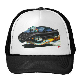 1993-97 Trans Am Black Car Trucker Hat
