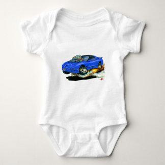1993-97 Trans Am Blue Car Baby Bodysuit