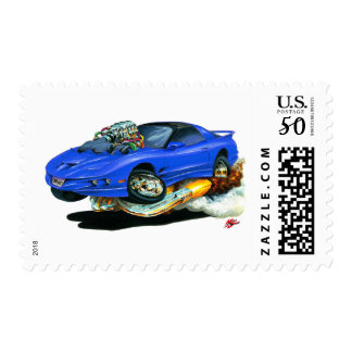1993-97 Trans Am Blue Car Postage