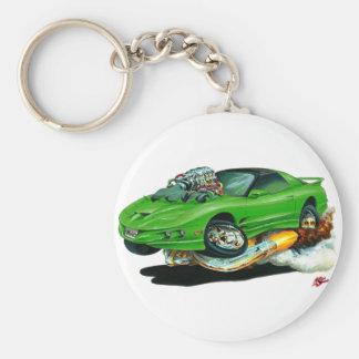 1993-97 Trans Am Green Car Keychain