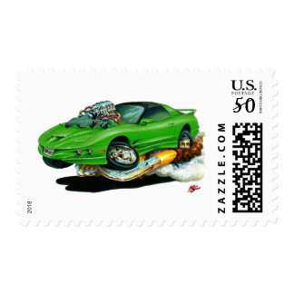 1993-97 Trans Am Green Car Postage