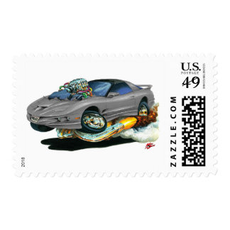 1993-97 Trans Am Grey Car Postage Stamps