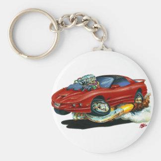 1993-97 Trans Am Maroon Car Keychain