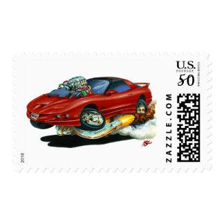 1993-97 Trans Am Maroon Car Postage