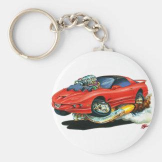 1993-97 Trans Am Red Car Keychain