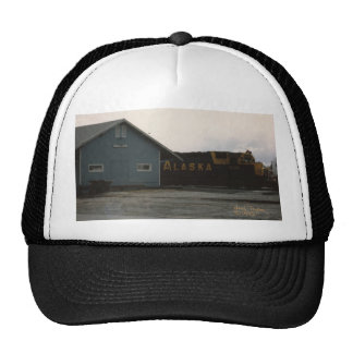 1993 Palmer Railroad Depot and Engine Trucker Hats