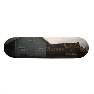 1993 Palmer Railroad Depot and Engine Skateboard Deck