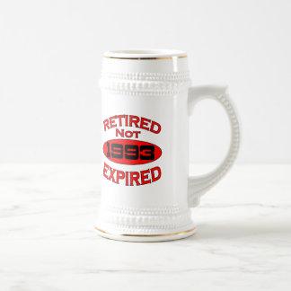 1993 Retirement Year Beer Stein