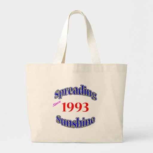 1993 Spreading Sunshine Tote Bags