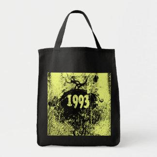 1993 vintage retro - bolsos bolsa tela para la compra