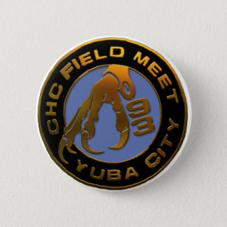 1993 Yuba City Pinback Button